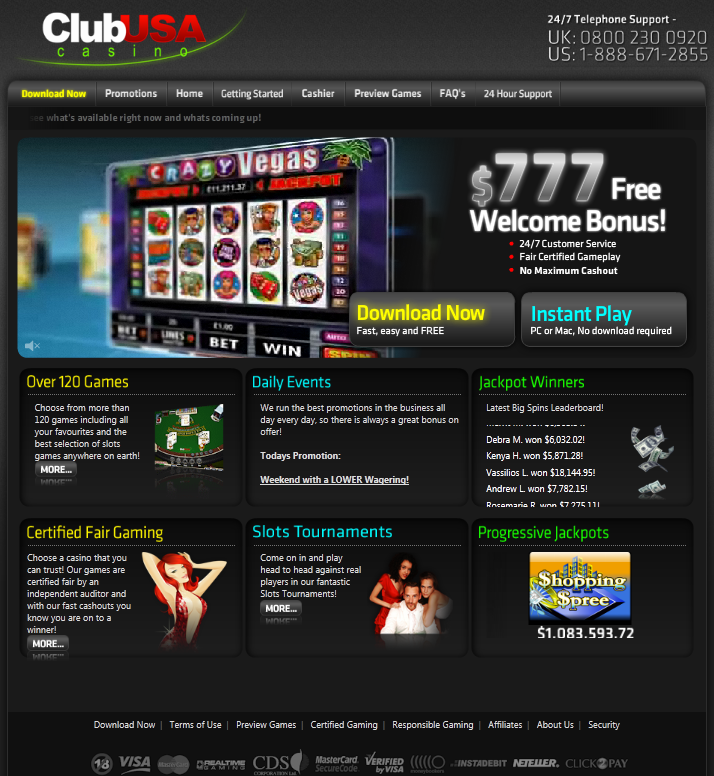 Most trusted online casino usa