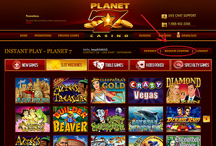 is planet 7 online casino legitimate
